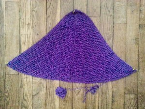 Glam Shell shawl - small-8