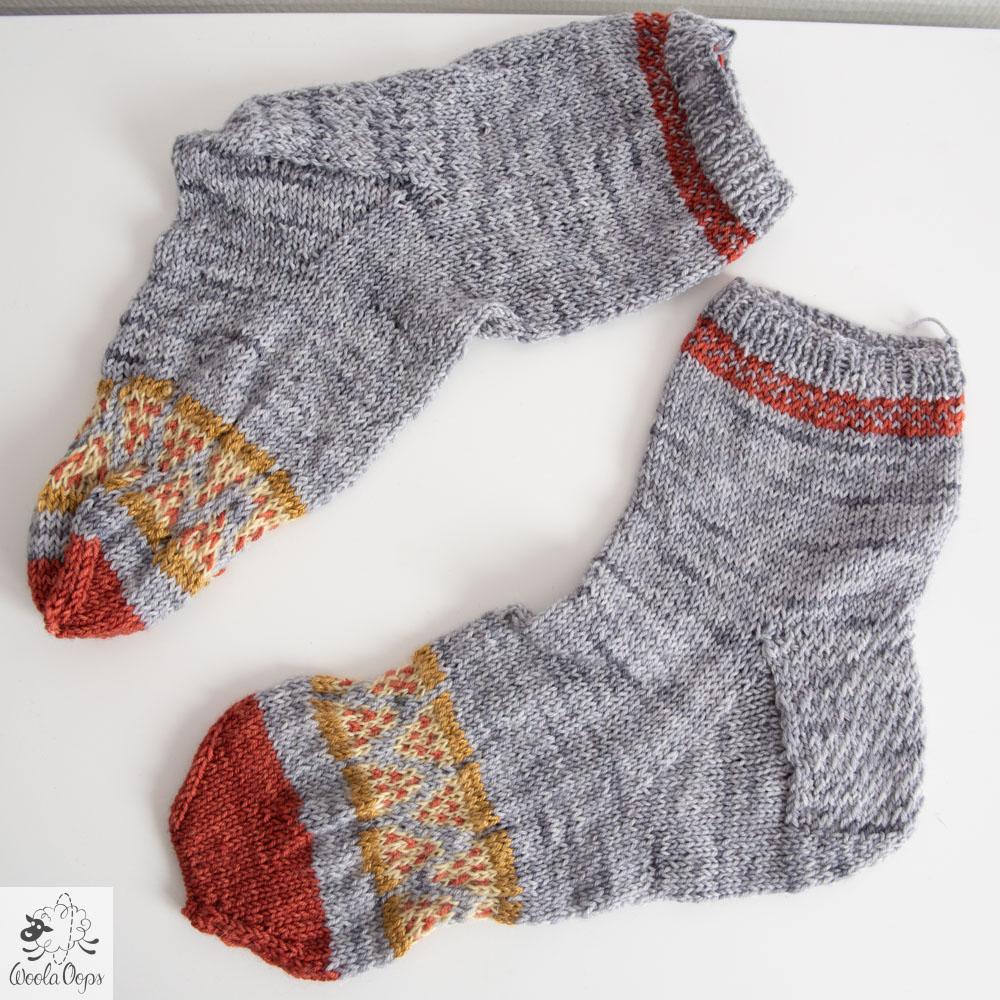 tricoter une pizza, tricoter des chaussettes