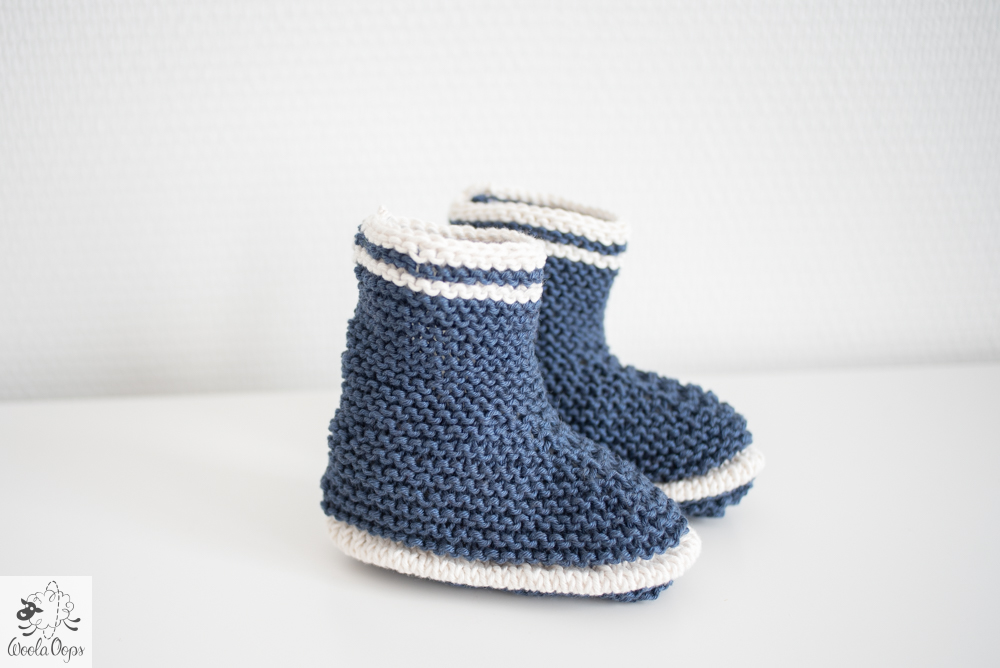 chausson pour bébé à tricoter