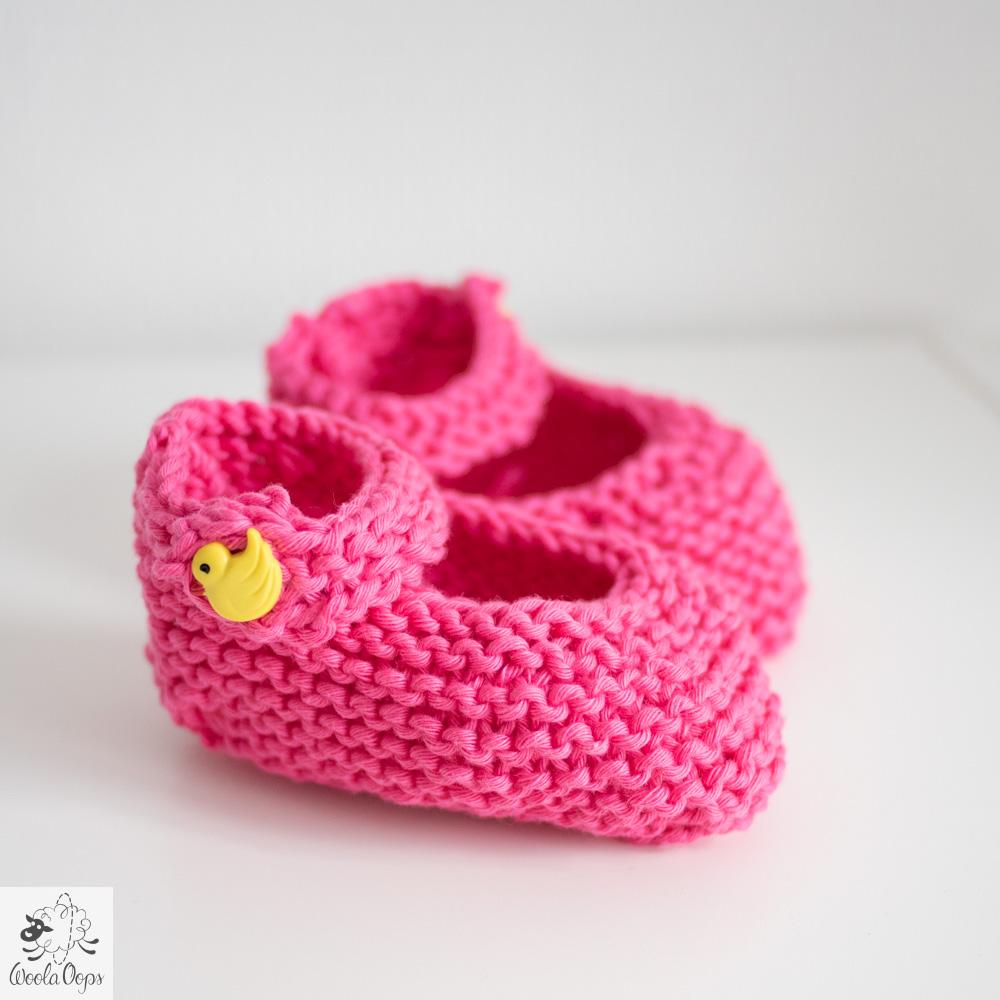tricoter des chaussons pour bébé