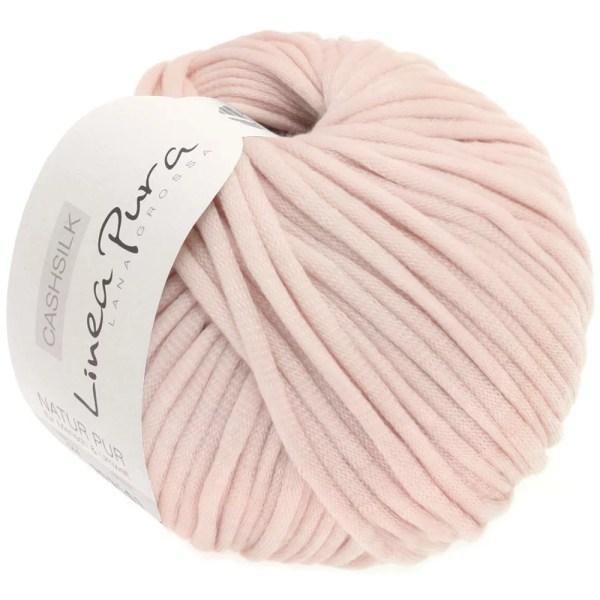 Lana Grossa Cashsilk 050 блідо-рожевий