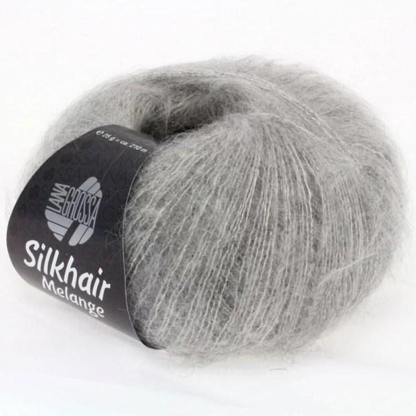 Lana Grossa Silkhair 702 світло-сірий