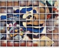 """Still Life Blue Guitar"" 4th Apr 1982, David Hockney -http://www.hockneypictures.com/photos/photos_polaroids.php - Date: 13/04/2014"