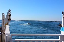 On our way to Block Island