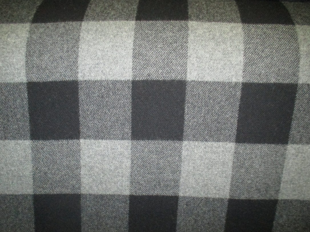 Grey_Black Buffalo Check