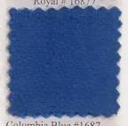 Pendleton melton wool in Columbia blue.