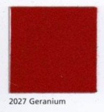 Pendleton Eco-Wise Wool in Geranium, a deep red.