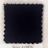 Pendleton melton wool in navy blue.