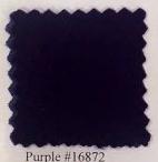 Pendleton melton wool in purple.