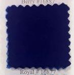 Pendleton melton wool in royal blue.