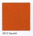 Pendleton Eco-Wise Wool in Squash, a warm dark orange.