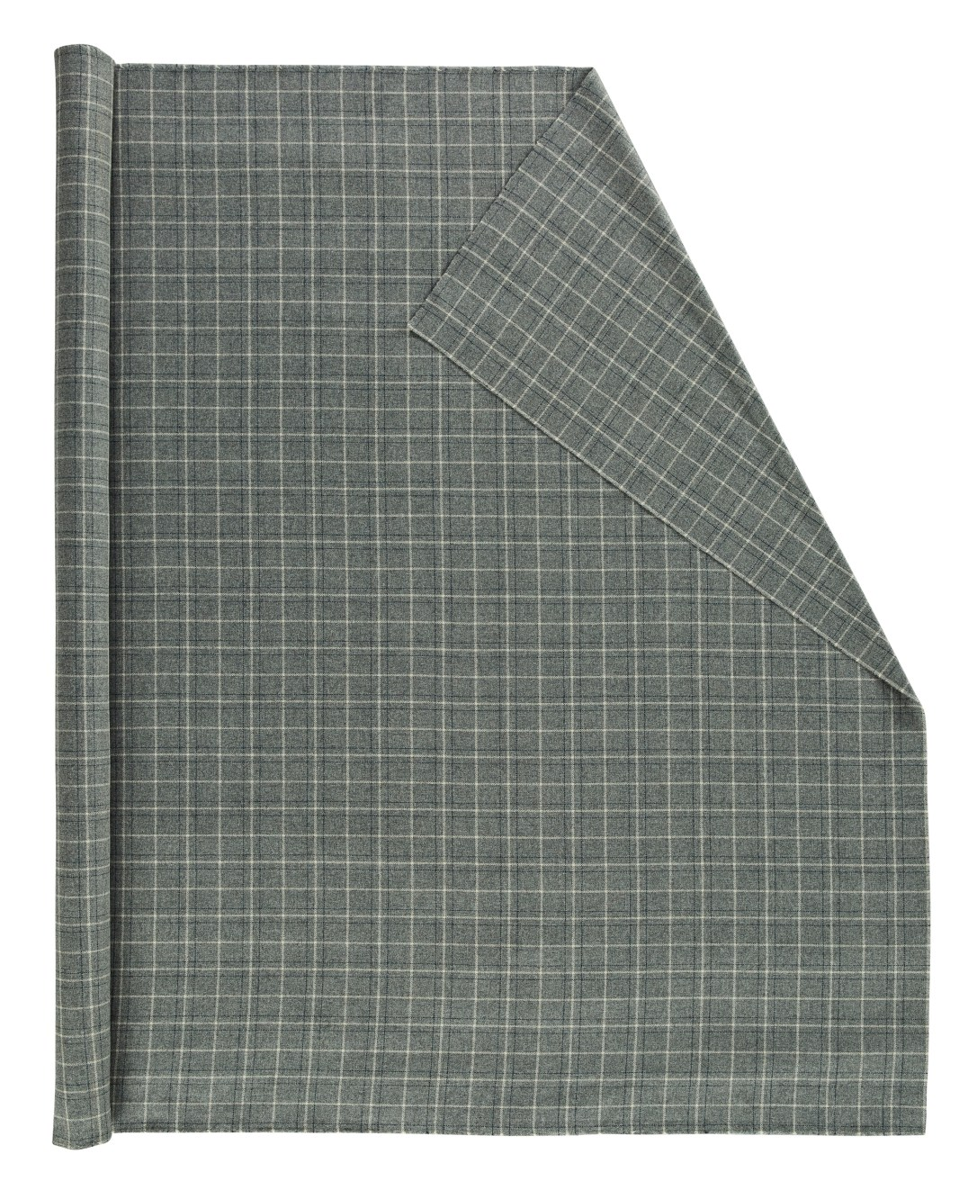 LW Grey Windowpane 126140