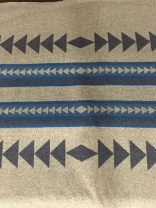 Pendleton wool fabric