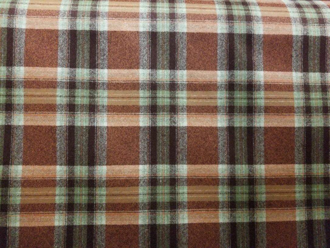 #lodge plaid copper 6in 46502