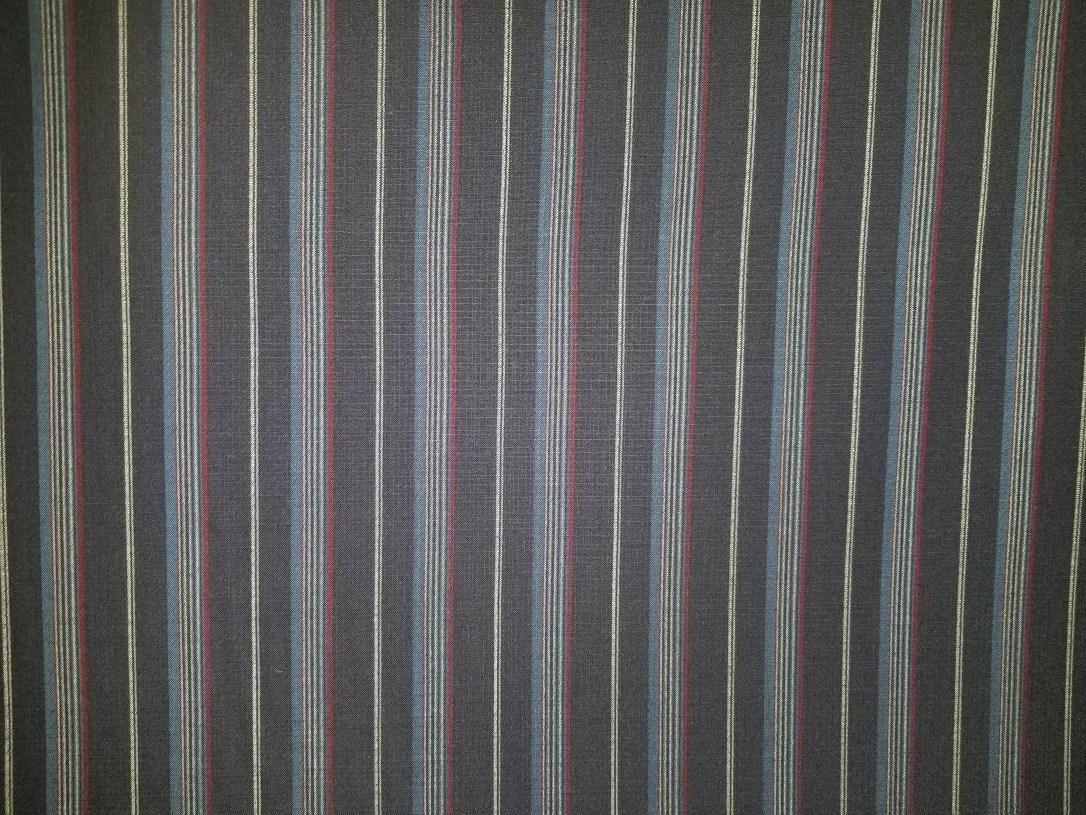 #navy linin weave vert. stripe 128518