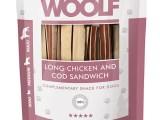 Snack Woolf Sandwich Largo Pollo y Bacalao