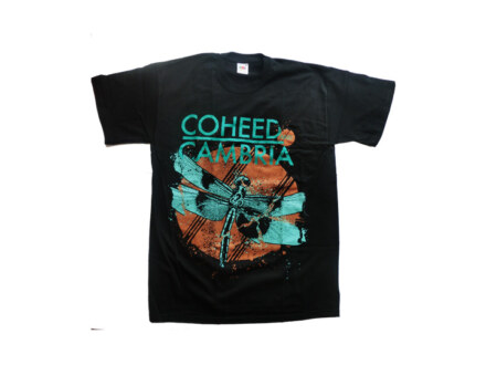 "Coheed & Cambria T-Shirt ""Dragon Fly 2010"" Man"