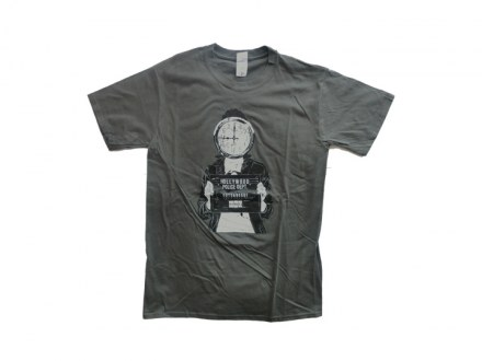 """Queens Of The Stone Age T-Shirt """"Mugshot"""" Man"""