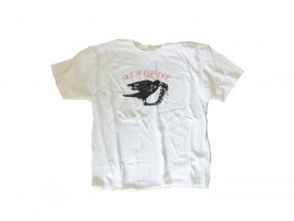 """Quest For Fire T-Shirt """"Crow"""" Man"""