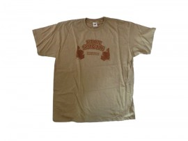 "Up In Smoke Vol. 3 T-Shirt ""Beige"" Man"