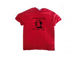 "Yawning Man T-Shirt ""Red"""