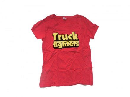 "Truckfighters T-Shirt ""Classic red"" Girl"