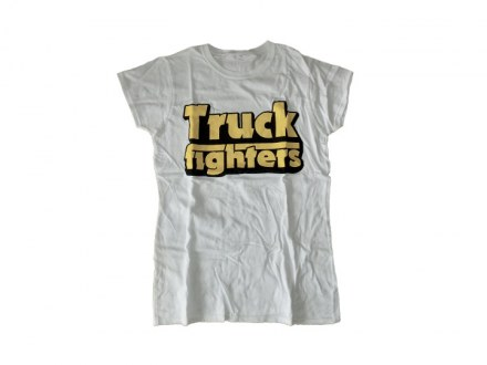 "Truckfighters T-Shirt ""Classic white"" Girl"