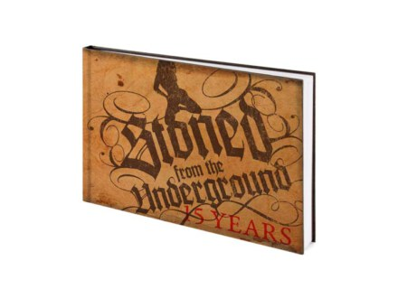 Stoned From The Underground Book – 15 Years