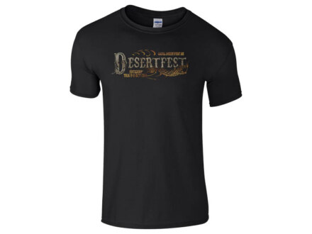 "Desertfest Antwerp T-Shirt 2015 ""black"" Man"