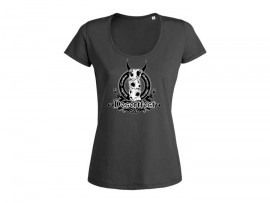 "Desertfest Logo T-Shirt ""New Anthracite"" Woman"