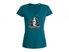 "Desertfest Logo T-Shirt ""New ocean depth"" Woman"