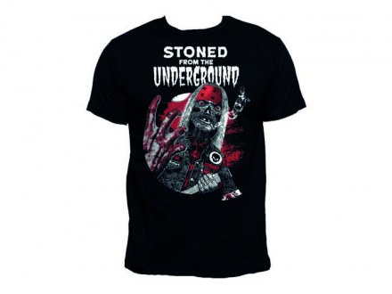 "Stoned From The Underground T-Shirt ""Elvisdead '16"" Girl"