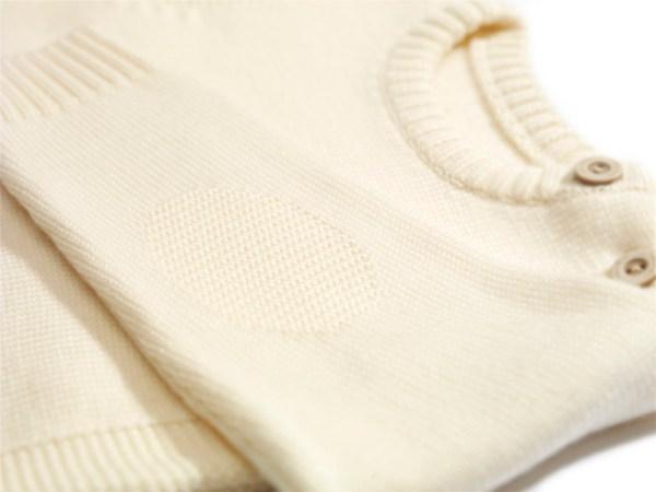 Sweterek jasnobeżowy 002 | 003-W-SW-LBE | www.wooliesandco.pl | shop online