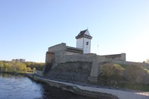 Narva Estonia Border Crossing