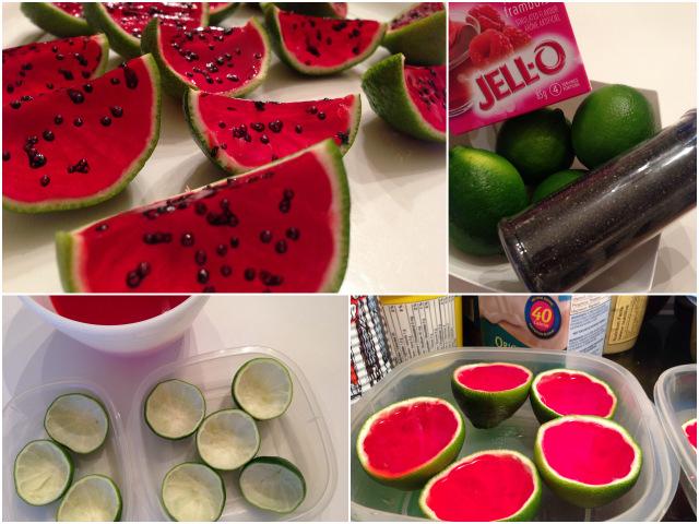 idées festives pour le melon d'eau wooloo