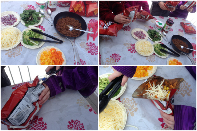 Tacos en sac de chips wooloo