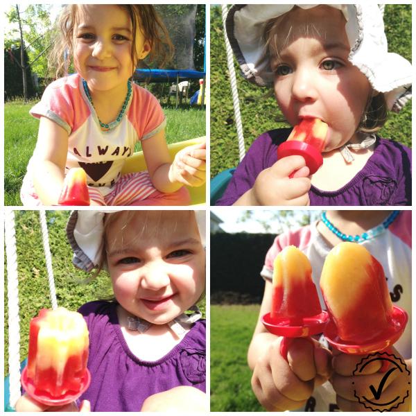 Bagues de princesse glacées aux fruits Super mini