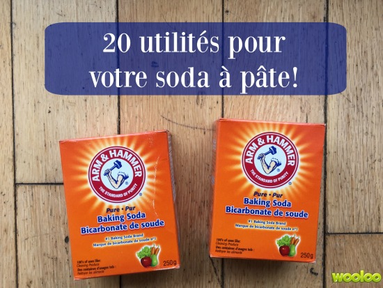 20 façons d'utiliser le soda à pâte