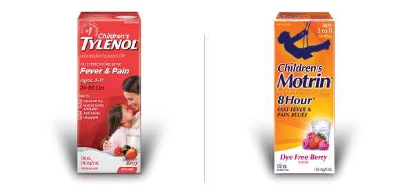 tylenol ou motrin1