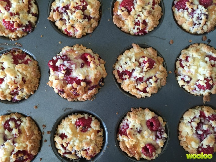 muffins framboises crumble wooloo