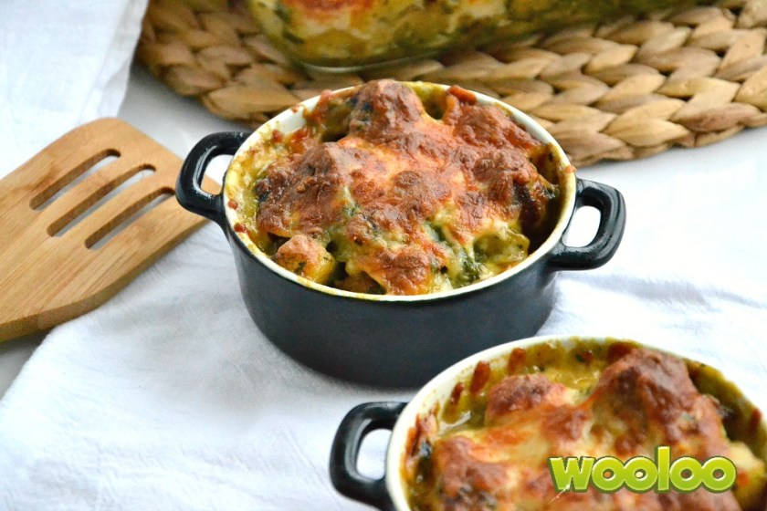 patates gratinées wooloo