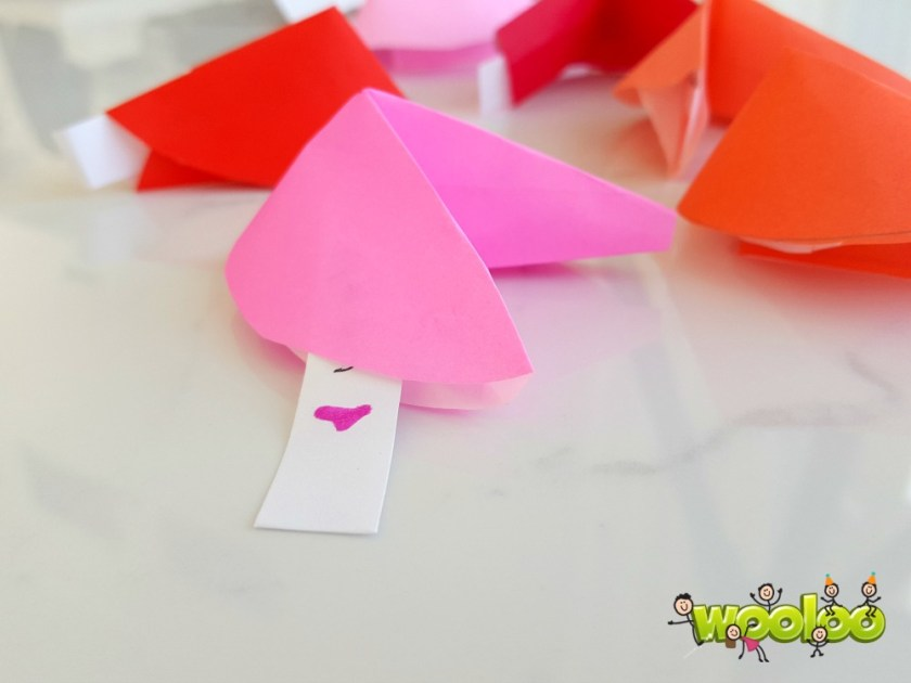 Biscuits de fortune en papier wooloo