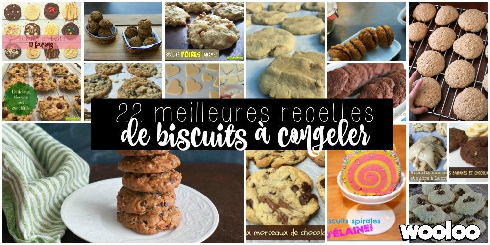 Les 22 meilleures recettes de biscuits à congeler