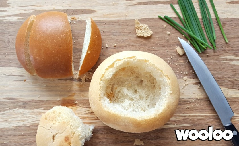 bol de pain en forme de lapin wooloo