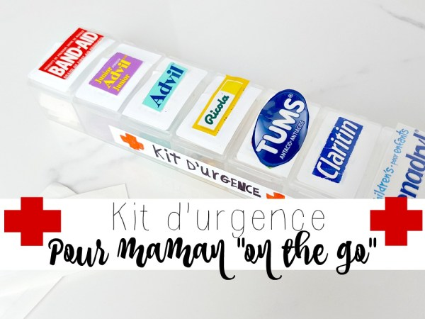 Kit d'urgence pour ta sacoche