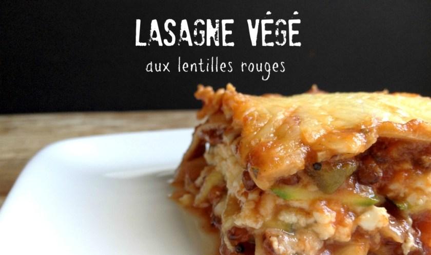 Lasagne végé pas compliqué