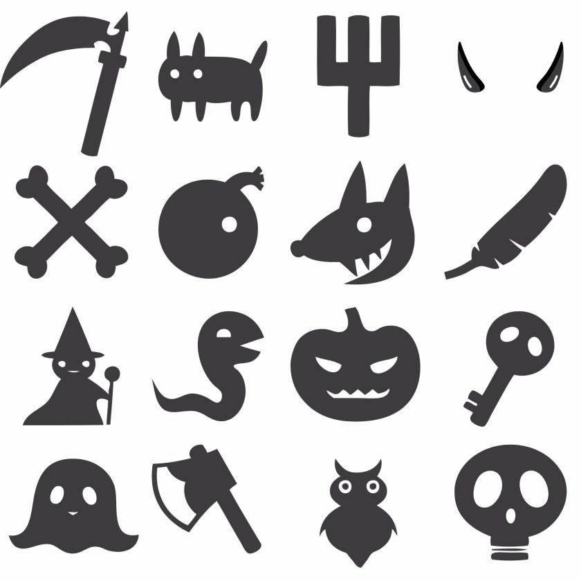Bingo d'Halloween / wooloo
