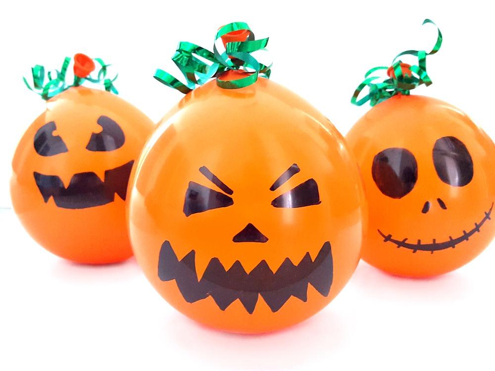Faire des citrouilles pinata d'Halloween