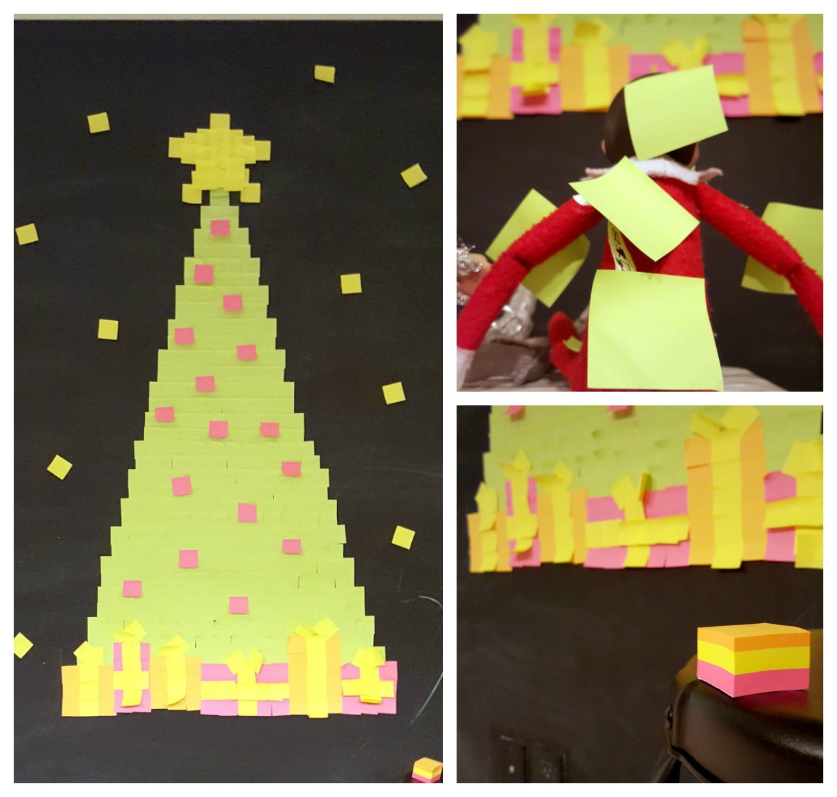 Lutins et Post it