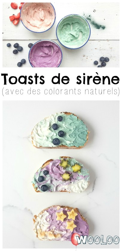 Toasts de Sirène / wooloo